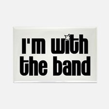 I'm With Band Rectangle Magnet