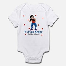 Future Boxer like My Grandpa Baby Infant Bodysuit