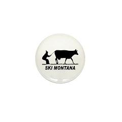 Ski Montana Mini Button (100 pack)