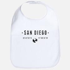San Diego Baby Bib