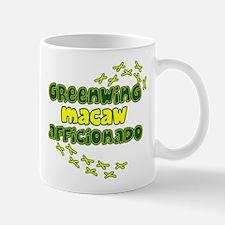 Afficionado Greenwing Macaw Mug