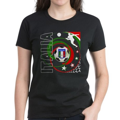 Italia Global Design Women's Dark T-Shirt