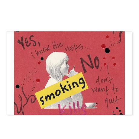 Stop Smoking Postcards