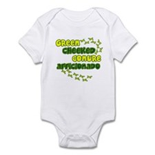 Afficionado Green Cheeked Conure Baby Bodysuit