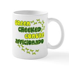 Afficionado Green Cheeked Conure Mug