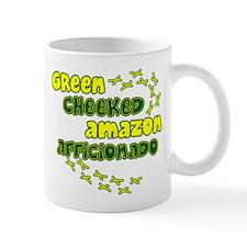 Afficionado Greencheeked Amazon Mug