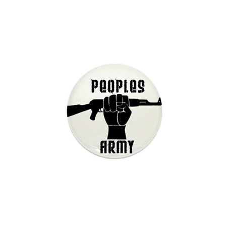 PEOPLES ARMY Mini Button