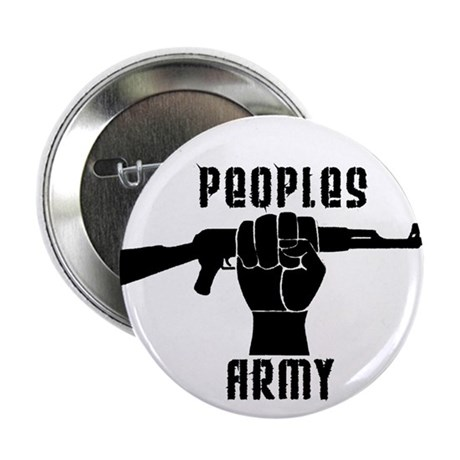 "PEOPLES ARMY 2.25"" Button (10 pack)"