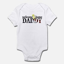 Flag: Welcome Home Daddy Infant Bodysuit
