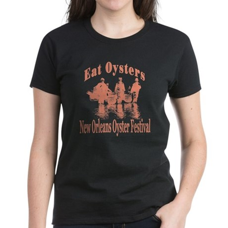 New Orleans Oyster Festival Women's Dark T-Shirt