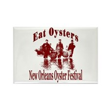 New Orleans Oyster Festival Rectangle Magnet