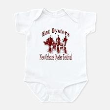 New Orleans Oyster Festival Infant Bodysuit