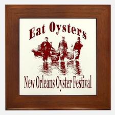 New Orleans Oyster Festival Framed Tile