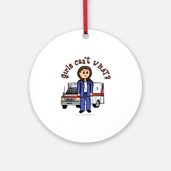 Light EMT-Paramedic Ornament (Round)