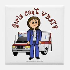 Light EMT-Paramedic Tile Coaster