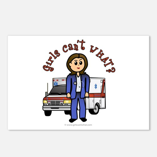 Light EMT-Paramedic Postcards (Package of 8)