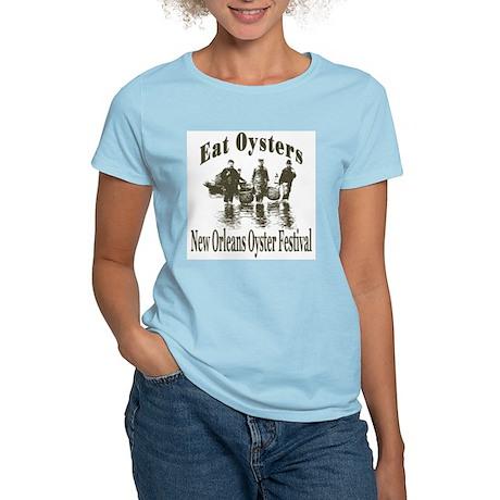 New Orleans Oyster Festival Women's Light T-Shirt
