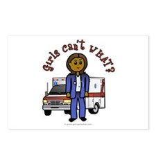 Dark EMT-Paramedic Postcards (Package of 8)