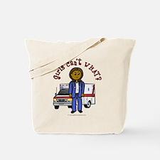 Dark EMT-Paramedic Tote Bag