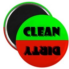 The Clean or Dirty DISHWASHER MAGNET!