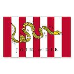 Sons of Liberty Rectangle Sticker 50 pk)