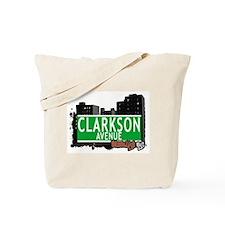 CLARKSON AVENUE, BROOKLYN, NYC Tote Bag