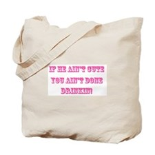 If HE ain't cute (FM GOAL USA) Tote Bag