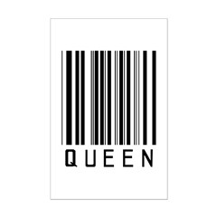 Queen Barcode Posters