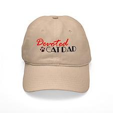 Devoted Cat Dad Baseball Cap
