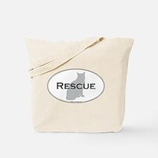 Rescue Cat Tote Bag
