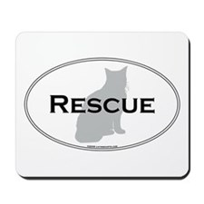 Rescue Cat Mousepad