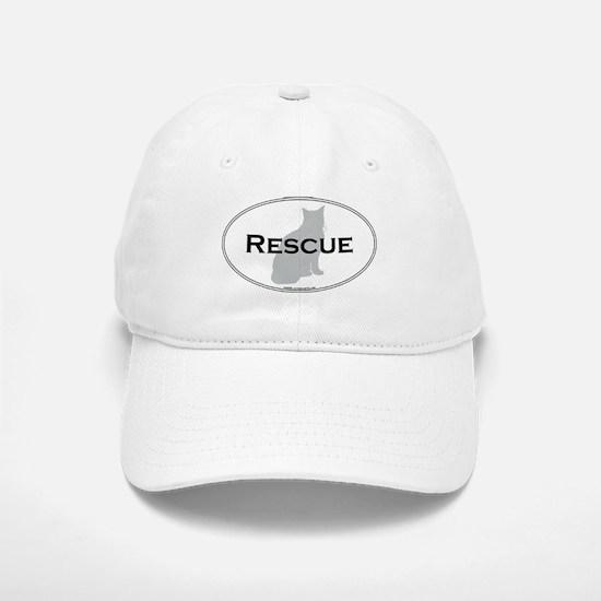Rescue Cat Baseball Baseball Cap