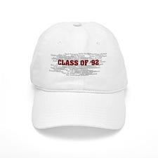 Class Of 92 Baseball Cap