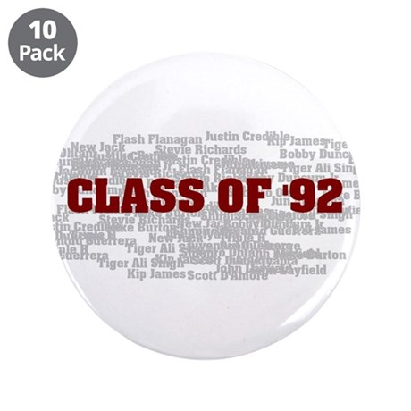 """Class Of 92 3.5"""" Button (10 pack)"""