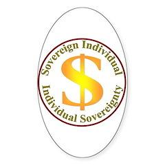IS-SI Oval Sticker (10 pk)
