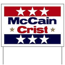 McCain Crist '08 Yard Sign