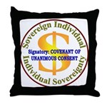 IS-CUC Throw Pillow
