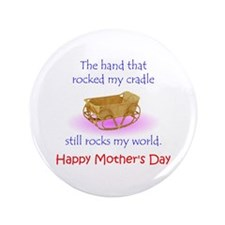 """Mother's Hand 3.5"""" Button"""