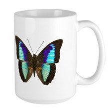 Blue Prepona Tropical Butterfly Mug