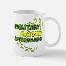 Afficionado Military Macaw Mug