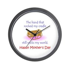 Mother's Hand Wall Clock