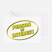 Person of Interest... Greeting Card