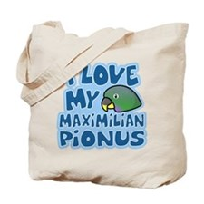 Kawaii Maximilian Pionus Tote Bag
