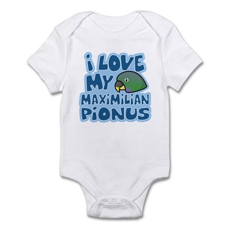 Kawaii Maximilian Pionus Infant Bodysuit
