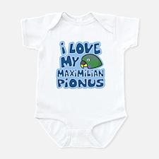 Kawaii Maximilian Pionus Infant Bodysuit