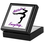 Gymnastics Keepsake Box - Attitude