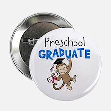 "Preschool Graduate - Monkey (Blue) 2.25"" Button (1"