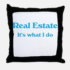 Real Estate Throw Pillow