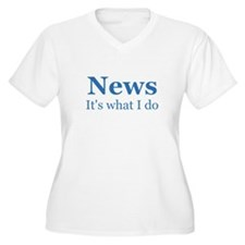 Newscaster T-Shirt