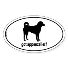 Got Appenzeller? Oval Decal